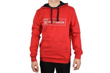 Helly Hansen Mens Hoodie 53338-111 Red S