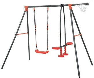 4IQ Red Wolf Metal Playground