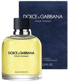 Tualetes ūdens Dolce & Gabbana Pour Homme 125ml EDT