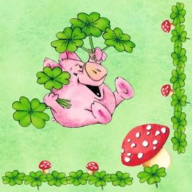 Herlitz Napkins Piggy