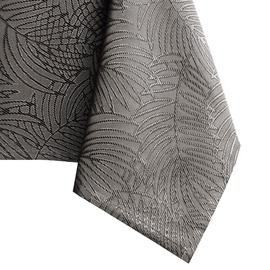 Скатерть AmeliaHome Gaia, коричневый/серый, 4000 мм x 1400 мм