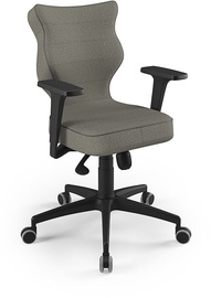 Entelo Perto Black Office Chair FC03 Gray