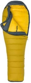 Guļammaiss Marmot Wind River Regular Yellow/Grey, kreisais, 208 cm