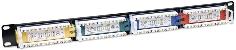 Intellinet Patch Panel 19'' UTP CAT 5e RJ45 x 24 1U
