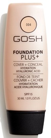Gosh Foundation Plus+ Cover + Conceal SPF15 30ml 4