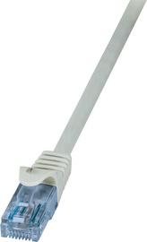 LogiLink Patch Cable Cat.6A 10GE Home U/UTP EconLine 7.5m Grey