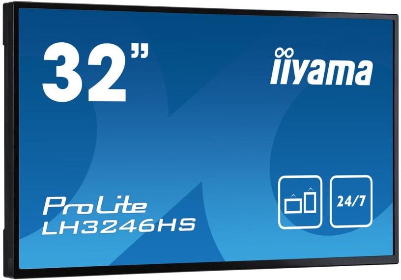 """Monitorius Iiyama ProLite LH3246HS-B1, 31.5"""", 10 ms"""