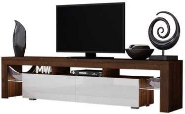 Pro Meble Milano 200  With Light Walnut/White