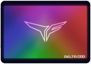 """Team Group T-Force Delta Max RGB SSD Black 2.5"""" 500GB"""