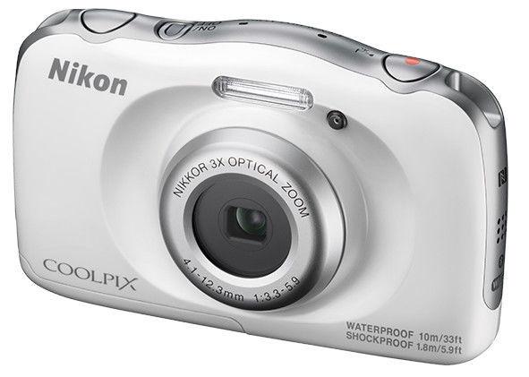 Nikon Coolpix W150 White Plus Backpack