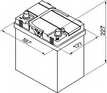 Bosch Modern Standart S4 018 Battery