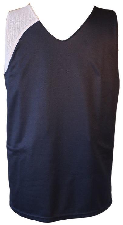 Bars Mens Basketball Shirt Dark Blue/White 32 176cm