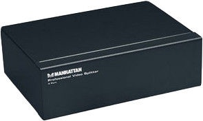 Manhattan 207348 VGA 4-Port Professional Video Splitter 1/4
