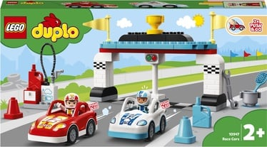 Konstruktors LEGO Duplo Race Cars 10947, 44 gab.