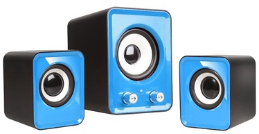 Tracer Omega USB Speakers 2.1 Blue