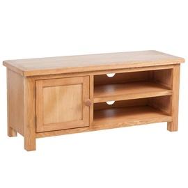 TV galds VLX Solid Oak Wood 241679, brūna, 360 mm x 1030 mm x 460 mm