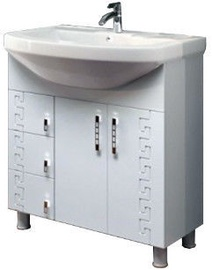 Julius Trading Gracia GRC0375r Cabinet 720x820x360mm White