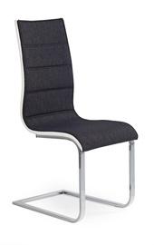 Стул для столовой Halmar K - 105 Graphite/White