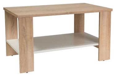 Kavos staliukas Signal Meble Modern Lara Sonoma Oak, 900x550x500 mm