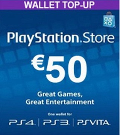 Sony PSN 50 EUR Finland PSN IDs Only
