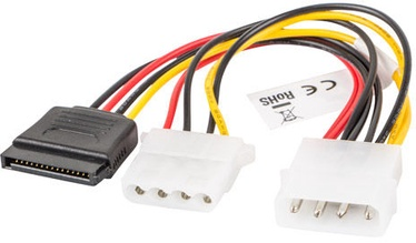 Lanberg 1 x Molex male to 1 x SATA female / Molex female CA-HDSA-12CU-0015