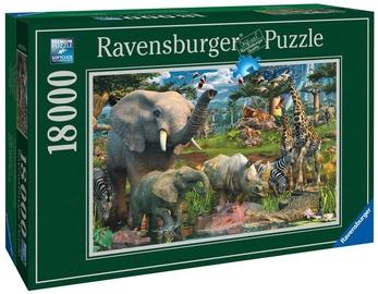Ravensburger Puzzle At The Waterhole 18000pcs