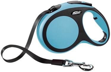 Flexi New Comfort Lead L 5m Blue