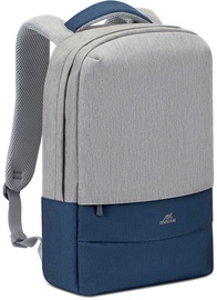 Сумка для ноутбука Rivacase Prater 7567, синий/серый