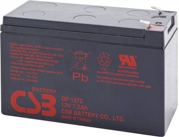 CSB GP1272 F2 12V/7.2Ah Battery Kit 12