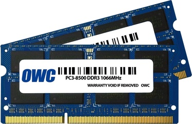 OWC 16GB 1867MHz CL11 DDR3 SODIMM MAC KIT OF 2 OWC1867DDR3S16P