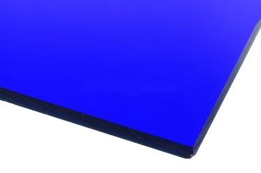 Ohne Hersteller Acrylic Glass GS Transparent Dark Blue 500x500mm