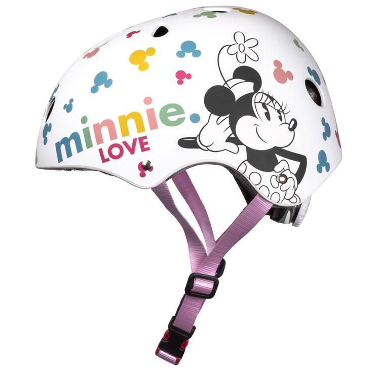 Ķivere velobraukšanai Disney Minnie 9080, balta, 540 - 580 mm