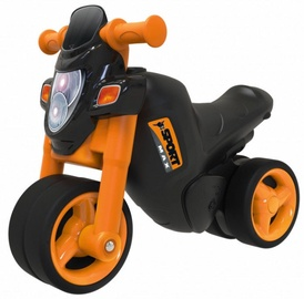 Vaikiškas dviratis BIG Sport Bike Black/Orange