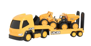 HTI JCB Mega Transporter Yellow 1416075