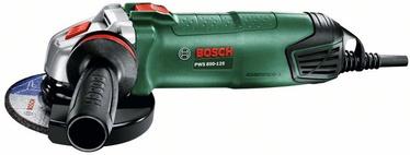Elektrinis kampinis šlifuoklis Bosch PWS 850-125, 850 W