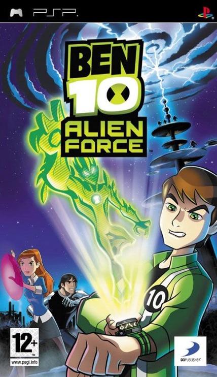 Ben 10 Alien Force PSP