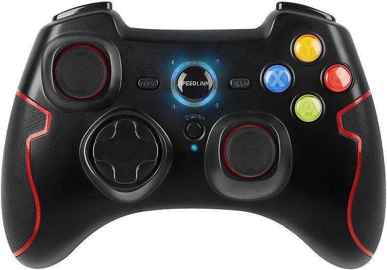 Speedlink TORID Wireless Gamepad for PC/PS3 Black