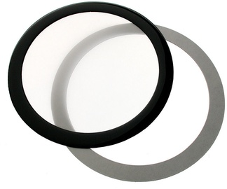 DEMCiflex Dust Filter 120mm Round Black/White DF0525