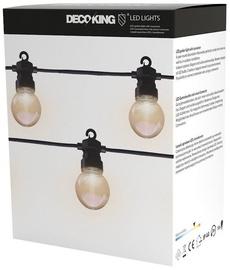 Elektrinė girlianda DecoKing LED Garden With Connector, balta, 3 m