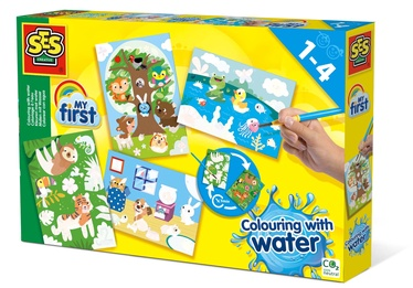 SES Creative Colouring With Water Hidden Animals