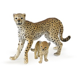 Dzīvnieku figūra Papo Cheetah with Cub 50044