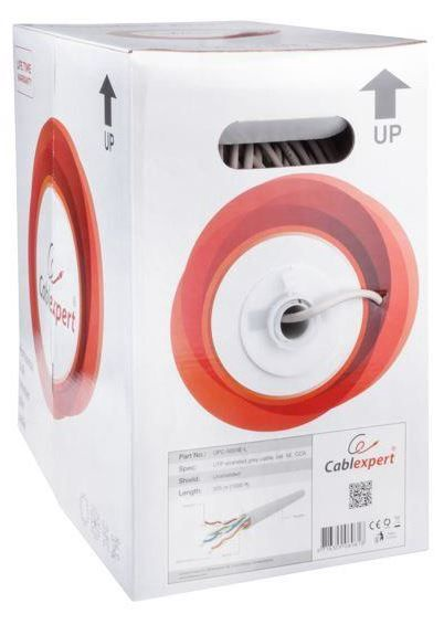 Gembird CAT 5e UTP CCA Stranded Cable Gray 305m
