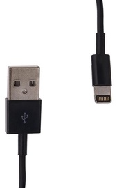 Whitenergy iPhone Cable USB / Apple Lightning Black 1m