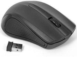 Kompiuterio pelė Omega OM-419 Black, bevielė, optinė