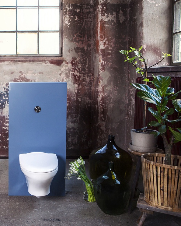 Sienas tualete Gustavsberg Estetic 8330 GB1183300R1030, ar vāku, 350x530 mm