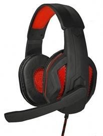 Žaidimų ausinės ART Hero Black/Red