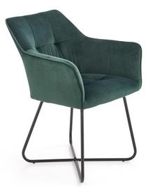 Valgomojo kėdė Halmar K377 Dark Green, 1 vnt.