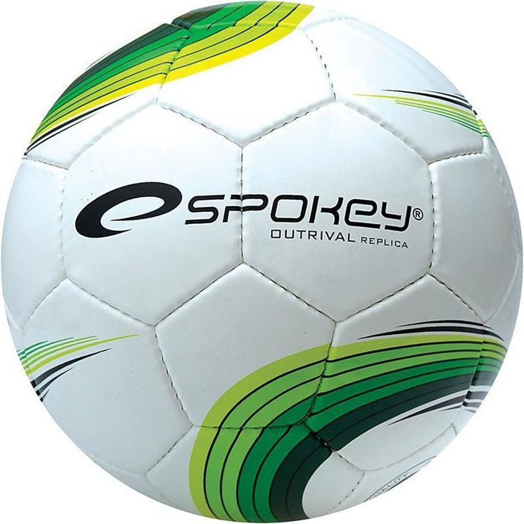 Spokey Football Outrival Replica White/Green