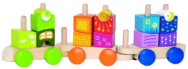 Hape Fantastia Blocks Train E0417