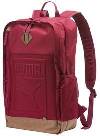 Puma S Backpack 075581 11 Bordeaux